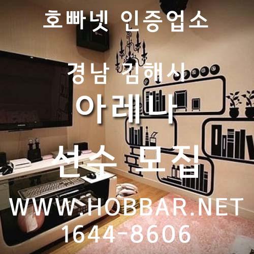 김해호빠 아레나 홍보사진