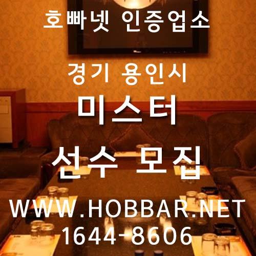 용인호스트바 미스터 홍보사진